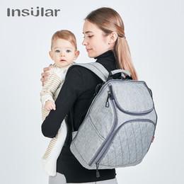 $enCountryForm.capitalKeyWord NZ - New Fashion Multifunctional Nursing Bag Large Capacity Diaper Bag Backpack waterproof Mummy Backpack Nappy Bag for Baby Care