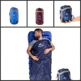 $enCountryForm.capitalKeyWord NZ - Naturehike NH Mini Envelope Sleeping Bags Outdoors Imitation Silk Cotton Trumpet Bag Travel Bag Hiking Camping Equipment 72hs E1
