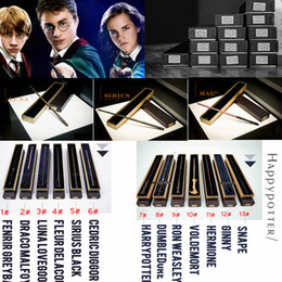 $enCountryForm.capitalKeyWord Australia - 13styles Harry Potter Magic Wand Cosplay Toys Metal Core Harry Potter With Gift Box Wand Toy Kid Gift Christmas Children party favor FFA2412