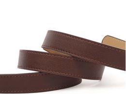 Brass Needles Australia - 2019 Hot selling new Men womens Black belt Genuine leather Letter belts brass belt for gift top seller with box