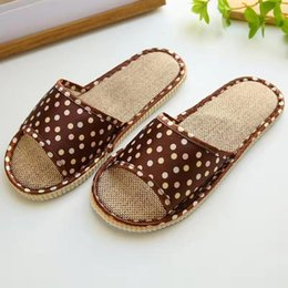 $enCountryForm.capitalKeyWord Australia - New women's slippers printing shoes women's summer indoor sweet style comfortable flat shoes home slippers casual cheap