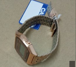 ElEctronic bricks online shopping - KF91W A159W Ultra thin with brick edging B640W waterproof retro small square business casual A158W ladies electronic watch diamond F91