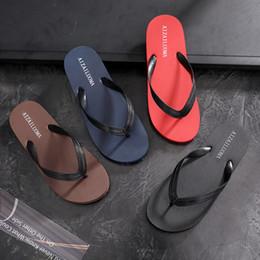 $enCountryForm.capitalKeyWord Australia - Fashion flip-flops Men's Summer Non-skid Sandals Men's Individual Korean Foot-clipping Outdoor Beach Shoes Leisure Trend