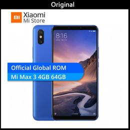 "$enCountryForm.capitalKeyWord Australia - Original Xiaomi Mi Max 3 4 6GB RAM 64 128GB ROM Max3 Mobile Phone Snapdragon 636 Octa Core OTA 5500mAh 6.9"" 2160x1080 Screen 12MP+5MP B4 B20"