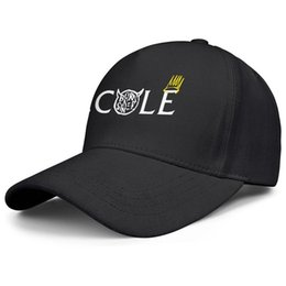 China Casual Men Women Trucker cap J Cole logo custom baseball hats Fit hats 100% Cotton cheap custom fitted baseball caps suppliers