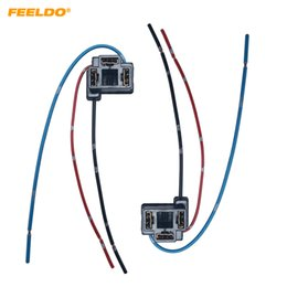 $enCountryForm.capitalKeyWord Australia - 2pcs Auto H4 Headlight Female Adapter Sockets Wiring Harness Connector Car Halogen HID LED Retrofit Wire Plug #5955