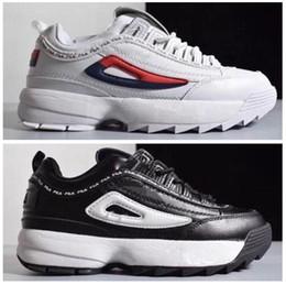 Running Shoes For Women Australia - Epacket men folder lovers heighten Sneakers DISRUPTORS 2 Big letters running shoes for women good for health 2 generation of destroyers