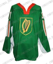 $enCountryForm.capitalKeyWord Australia - Custom Team Ireland Hockey Jersey Bailey stitch any number any name Mens Hockey Jersey XS-5XL