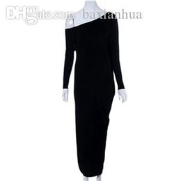 long sleeve maxi dresses Australia - Wholesale-Womens Maxi Long Dress Long Sleeve Casual Sexy Fall Full Sleeve Loose Wrap Oversize Irregular Elegant Party Dresses