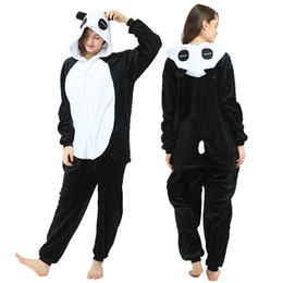 cat cosplay pyjamas UK - NEW Animals pajamas onesie pyjamas  jumpsuit costume cosplay stitch panda cat wolf giraffe animal oneisie cosplay costume for sale