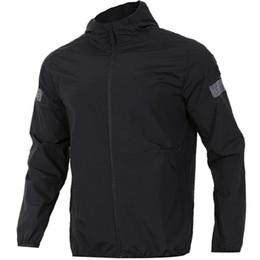 287ca383 Бренд дизайнер мужчины спортивная куртка роскошные мужские сплошной цвет  куртки с длинным рукавом с капюшоном куртки белый мужской куртки топ размер  одежды ...