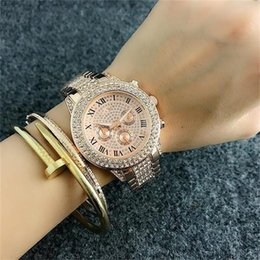 Wholesale GWomen s Luxury Watches All sky stars Crystal Diamond inlay Clock dial Woman Quartz Watches female Folding buckle wristwatch gifts for girls