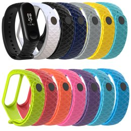 Wholesale Compatible Xiaomi Mi Band Fitness Tracker Bands Silicone Replacement Wristband Strap Accessories Pack of