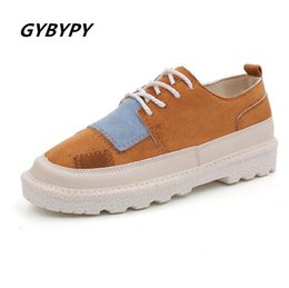 Fashion Trends Lace Dress Australia - Designer Dress Shoes 2019 new autumn fashion women hot Korean version of the trend of wild thick low-heeled student lace-up casual single
