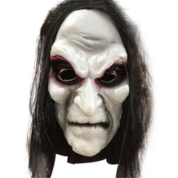 Discount zombie masks - Party Masks Halloween Zombie Halloween Masks Adult Ghost Festival Cosplay Costume Party Supplies Horror Party Mask