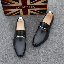 $enCountryForm.capitalKeyWord NZ - Cool2019 Leather Sharp Trend Britain Male Aaron Business Affairs Leisure Time Hairstyle Division Of Shoes Dawdler Set Foot White Increase