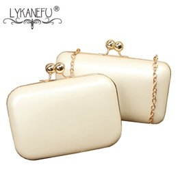 $enCountryForm.capitalKeyWord Australia - Candy Color Box Women Evening Bags Frame Ladies Day Clutches Chain Shoulder Hand Bags For Party Wedding Purse Big Small