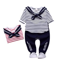 $enCountryForm.capitalKeyWord UK - Children 2019 Spring Autumn Baby Boys Girls Clothes T-shirt+Pants 2pcs Kids Tracksuit Sport Suit for Girls Clothing Sets 1-4T