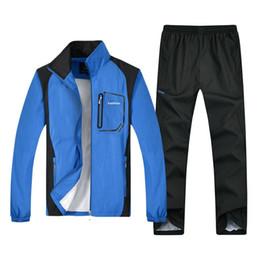 $enCountryForm.capitalKeyWord Australia - 5XL Large size tracksuit men set letter sportswear sweatsuit male Patchwork track suit jacket hoodie+pants Mens sporting suits