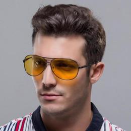 Discount sun vision - New Polarized Glasses Men's Sunglasses Car Drivers Night Vision Goggles Anti-Glare Sun glasses Women Driving