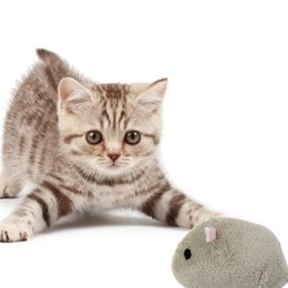 Rats Toys Australia - New Design Gray Brown Rat Plush Cat Toy Pet Interactive Toy Three Sets Per Free Shopping