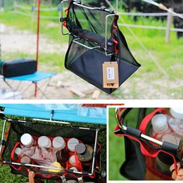 net kits Australia - Portable Barbecue Kit Bag Folding Table Multi-Function Large capacity Hanging Storage Net Bag for Outdoor Camping Hiking Kitchen