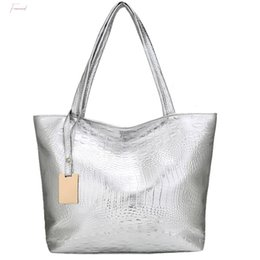 gold silver tote bags Canada - 2020 New Women Handbag Laser Hologram Leather Shoulder Bag Lady Single Shopping Bags Large Capacity Casual Tote Bolsa Silver Xew