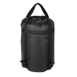 Bolsas de dormir BlueField compresión saco acampar al aire libre saco de dormir bolsa de compresión venda por atacado