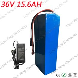 36v lithium ion battery online shopping - Free Tax Electric Bicycle Battery V AH W Lithium ion Battery With A Charger BMS V AH Electric Bike li ion Battery