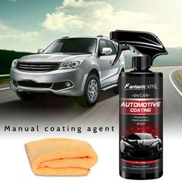 Top car polish online shopping - Car Ceramic Spray Coating Polish Spray Sealant Top Coat Quick Nano Coating ML Quick Coat Ceramic Waterless Wash Shine Protect