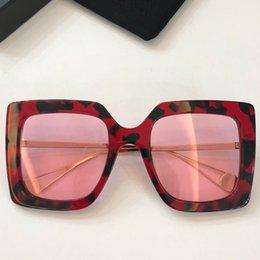 6f71181ee2b Oversized Sunglasses Canada - 2018 Female Brand Designer Luxury Big Frame  Sunglasses Gradient Square Sunglasses Women