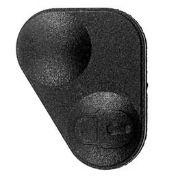 $enCountryForm.capitalKeyWord Australia - Rubber 2-Button Remote Key Fobs Pad Cover - YWC000300 For Land Range Rover P38 Black