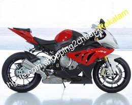 bmw s fairing UK - For BMW S1000RR Fairing S1000 S 1000RR RR 2010 2011 2012 2013 2014 Red Black White Bodywork Cowlings kit (Injection molding)