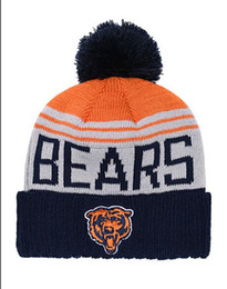 Woman Fans Australia - Cheap Men Women Winter Out Door Beanies Fashion Fans Brand Hip Hop BEARS Skull Beanie Hats Pom Cuffed Knit Cap