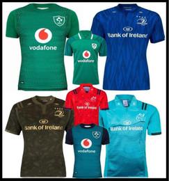 18 19 Ирландия регби трикотажные изделия ирландский ИРФУ NRL Мюнстер Сити регби Лига Leinster альтернативный Джерси 2018 2019 Ольстер ирландец рубашки размер: S--3xl