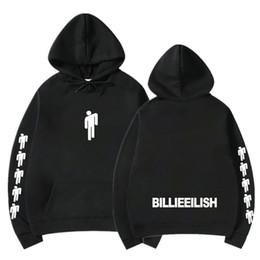 Sudaderas con capucha impresas de la marca Billie Eilish Mujeres Hombres Sudaderas con capucha de manga larga Venta caliente Casual Sudaderas con capucha de moda Streetwear en venta