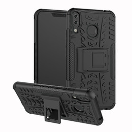 case armor zenfone UK - TPU + PC Dual Armor Cover with Stand For Asus Zenfone 5Z ZS620KL