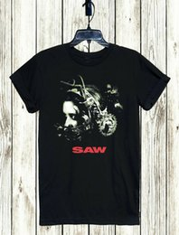 Game saw online shopping - SAW T SHIRT S XL UNISEX CULT JIGSAW MORTAL GAME TOP