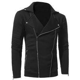 $enCountryForm.capitalKeyWord Australia - Men's Autumn Winter Casual Long Sleeve Solid Diagonal Zip Cardigan Top Jacket Turn-down Collar Jacket Top Jaqueta Masculino 730