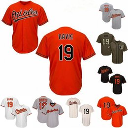 b98ad192e Youth 19 Chris Davis Baltimore Jersey 100% Stitched Chris Davis Cool Base  Orioles Baseball Jerseys Free Shipping
