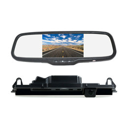 $enCountryForm.capitalKeyWord UK - Rear View Car Parking Reverse Backup Camera Mirror Monitor Kit for Toyota Yaris Vitz Porte XP90 XP130