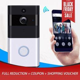 Ip Home Alarm Australia - M1 Professional Home Security Wireless IP Doorbell 720P Infrared Night Vision Camera Motion Detection Alarm Doorphone Doorbell