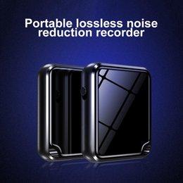 Vente en gros Mini enregistreur à commande vocale avec lecture Enregistreur audio ultra petit Enregistrement de longue durée pour conférences Conférences Entretiens