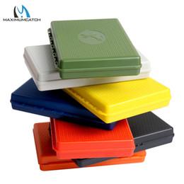 $enCountryForm.capitalKeyWord Australia - Tackle Boxes Maximumcatch 7 Colors For Choose 156*108*28mm Slim Pocket Plastic Wateproof Fly Fishing Box Jig Fishing Box