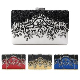 Handmade Patchwork Bags Australia - Nice New Fashion Women Bead Bridal Evening Clutch Bag Party Wedding Prom Wallet Purse Handmade Purses And Wallets