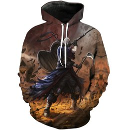 $enCountryForm.capitalKeyWord Australia - Tobi hoodies Naruto mask fleece 3D Uchiha Obito cos clothing Cartoon cosplay tops Print coat Outdoor cotton jacket Colorfast sweatshirts