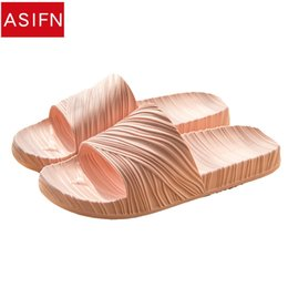 $enCountryForm.capitalKeyWord Australia - wholesale Women EVA Slippers Men Indoor Shoes Texture Couple Home Soft Sole Flip Flops Summer Sandals 2018