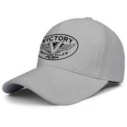 $enCountryForm.capitalKeyWord Australia - Womens Mens Plain Adjustable Victory Motorcycle Logo Rock Punk Cotton Cricket Cap Summer Travel Hats Flat Top Hat Airy Mesh Hats For Men Wo