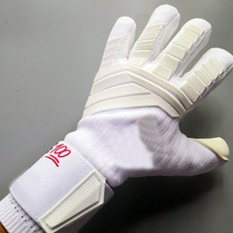 $enCountryForm.capitalKeyWord NZ - Wholesale-Professional Goalie Gloves without Finger Protection Thickened 4mm Latex Goalkeeper Gloves Soccer Football Goal keeper Gloves