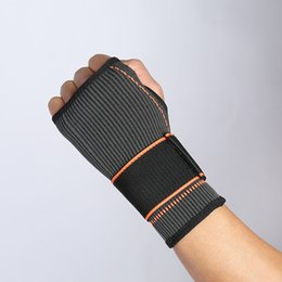 $enCountryForm.capitalKeyWord Australia - Wrist Supports Outdoor Sports Basketball Wrist Support 1Pcs Adjustable Wristband Elastic Wraps Bandages Weightlifting New